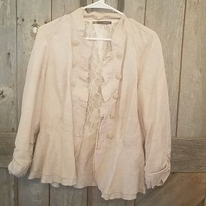 Very stylish and feminine blazer